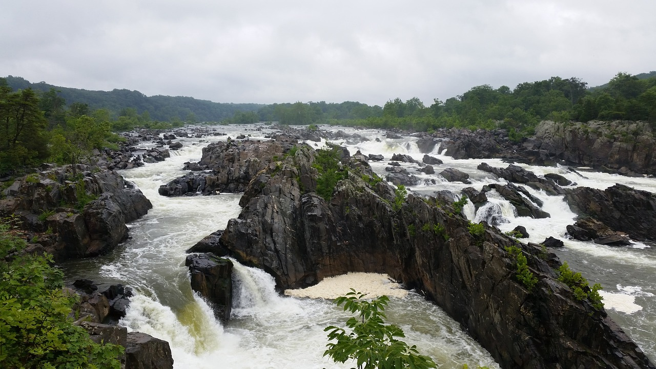 great falls park in virginia