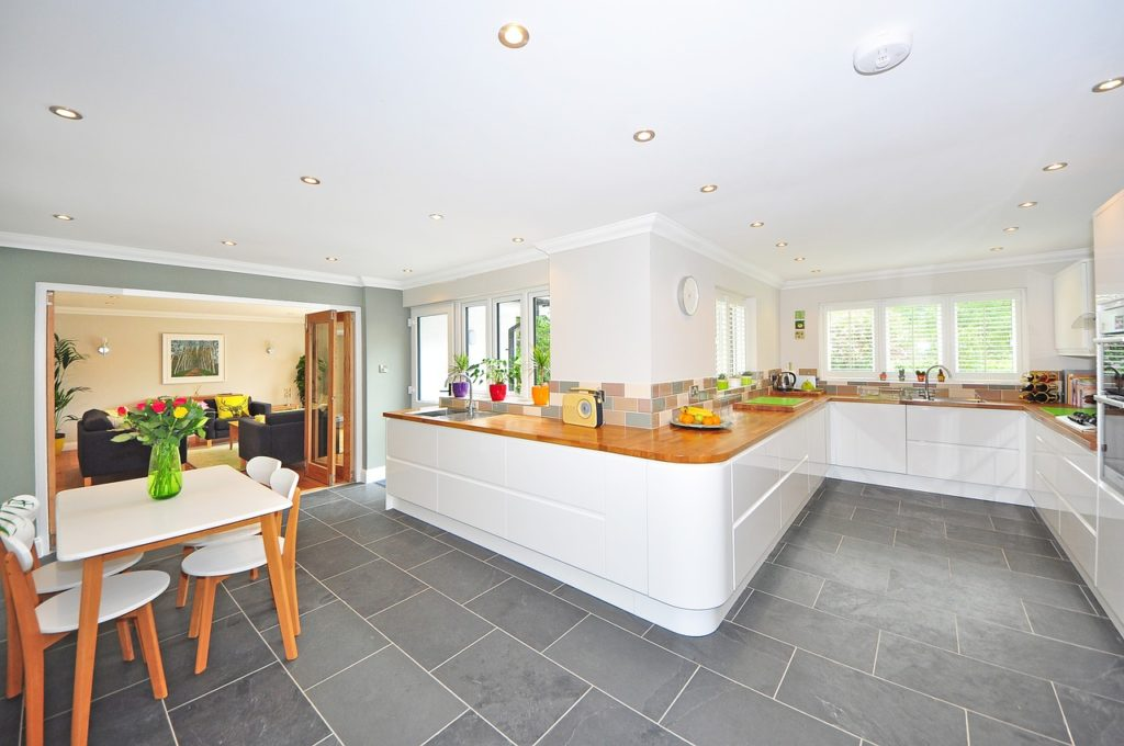 a decluttered kitchen