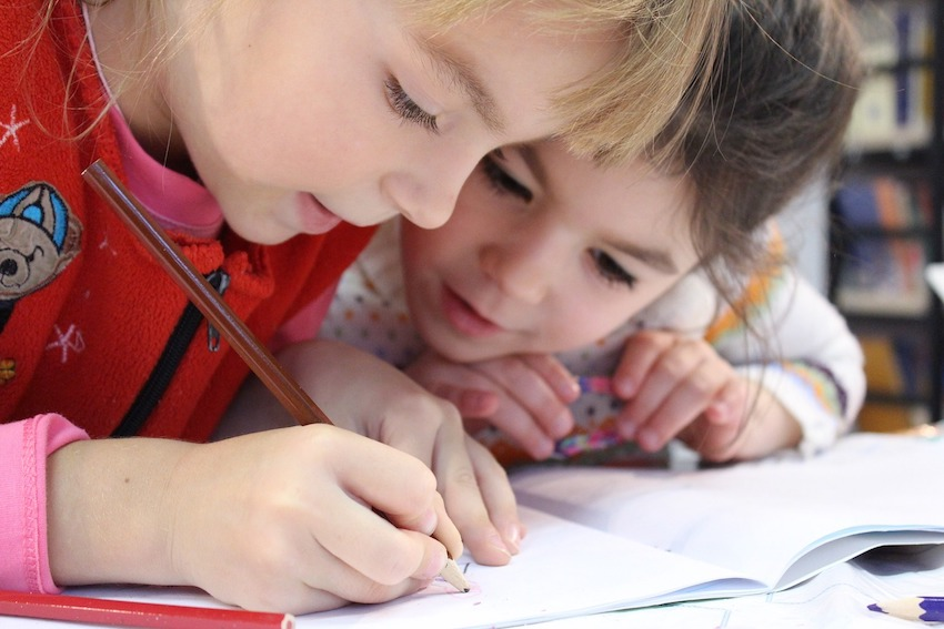 tips for homeschooling with kids