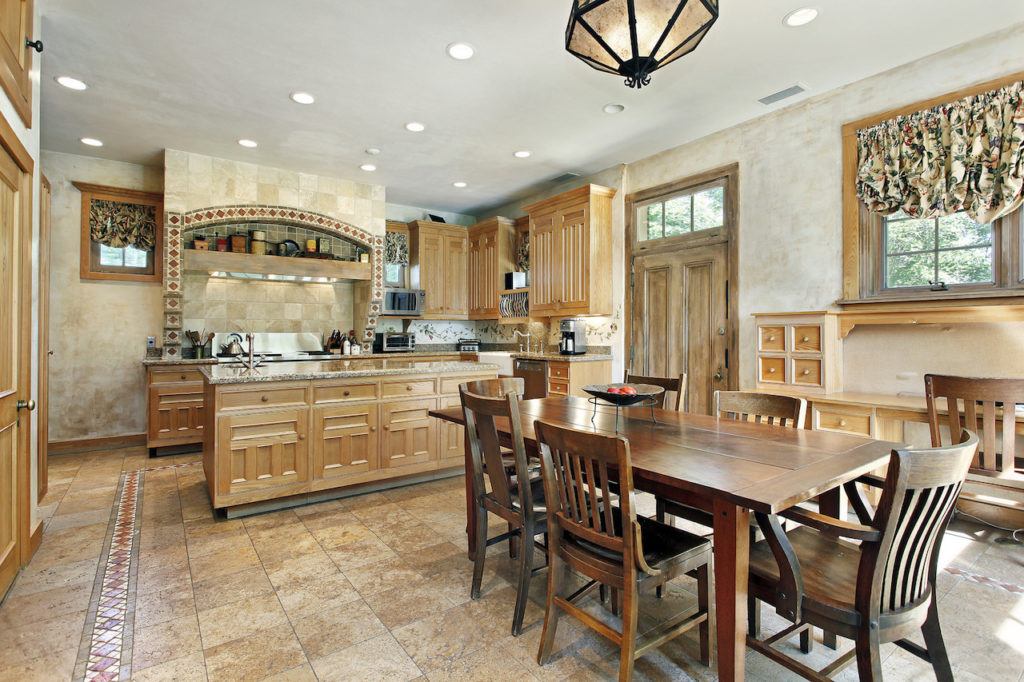 a beautiful designer kitchen