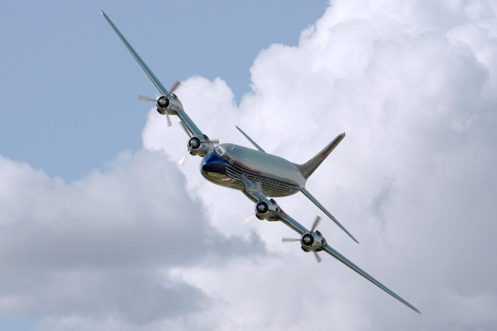 military plane demonstrations